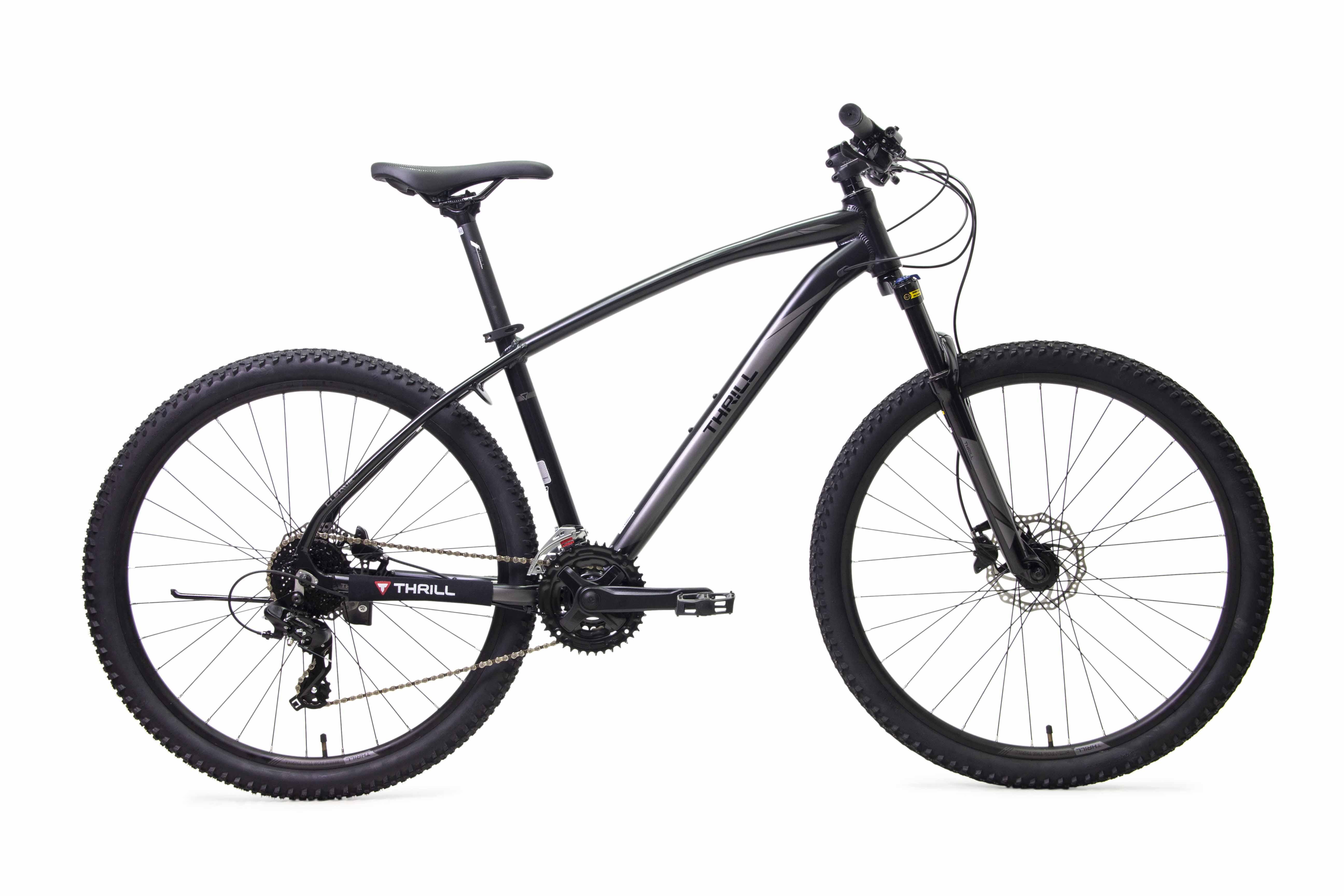 Sepeda Thrill Cleave lebih cocok dikendarai di medan gravel ringan (Foto: Thrill)